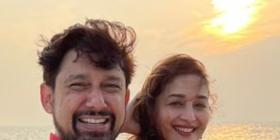 Here's what Madhuri Dixit's 'perfect start to 2021' looked like with husband Shriram Nene