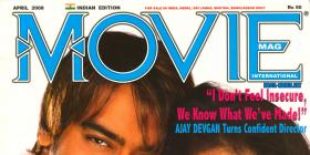 Kajol & Ajay on the Cover of Movie Magazine