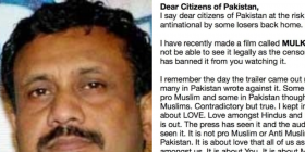 Mulk banned in Pakistan: Director Anubhav Sinha writes an open letter to the people of Pakistan