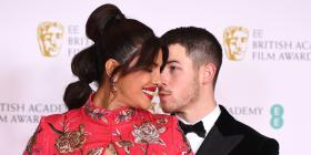 BAFTA Awards 2021: Nick Jonas and Priyanka Chopra turn up the romance on the red carpet with an ADORABLE kiss