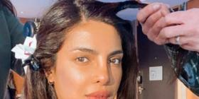 PIC: Priyanka Chopra Jonas looks radiant as she flaunts her 'clear skin' while getting ready for Citadel shoot