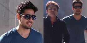 In Pics: Sidharth Malhotra looks like a complete hunk; snapped interacting with Aashiqui 2 director Mohit Suri