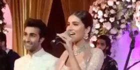 Did Tara Sutaria confess her love for Aadar Jain as she sang a romantic song holding his hands? Watch Video