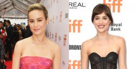 TIFF 2019: Brie Larson & Dakota Johnson steal the show on the red carpet for Just Mercy & The Friend Premiere