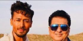 Tiger Shroff shares a happy PIC with Sajid Nadiadwala & Ahmed Khan as he gears up for Heropanti 2 & Baaghi 4