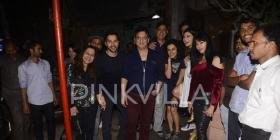 PHOTOS: Varun Dhawan, Taapsee Pannu and Jacqueline Fernandez clicked at the success bash of Judwaa 2