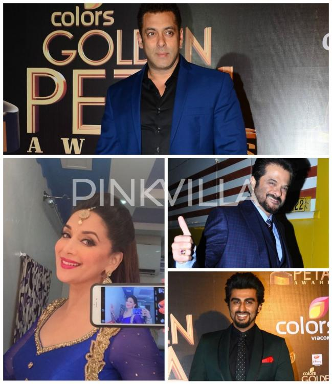 Colors Golden Petal Awards 2016: Supertars Galore: Salman, Madhuri, Anil, Arjun Stun At The