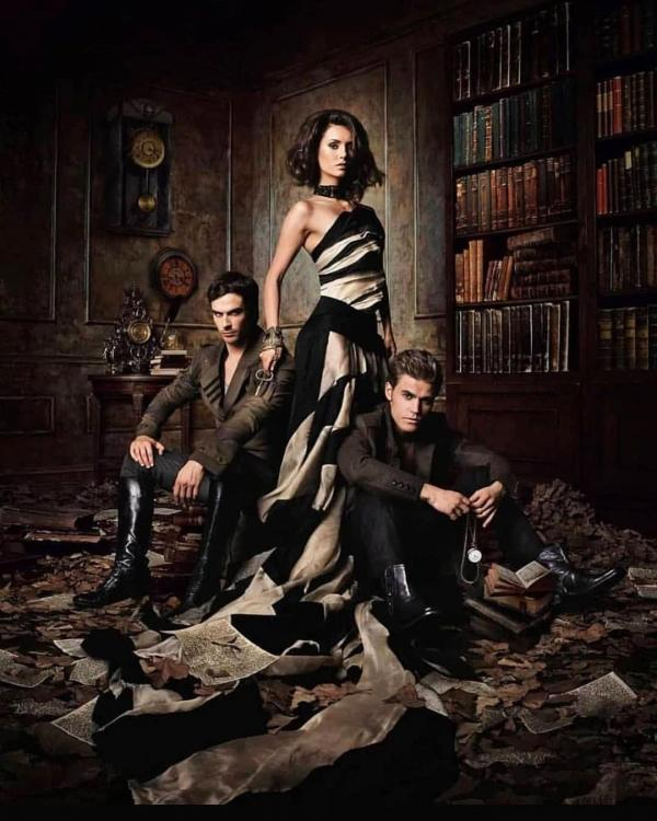 10 Years of The Vampire Diaries: Nina Dobrev shares throwback snaps with Ian Somerhalder & Paul Wesley