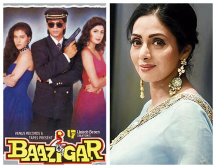 25 Years of Baazigar: Shilpa Shetty reveals Sridevi was the first choice to play Kajol & her role in the film   PINKVILLA