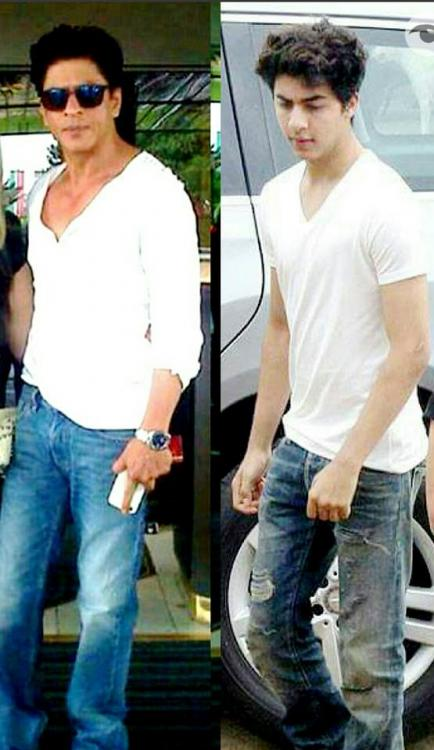5 Times When Aryan Was A Splitting Image Of Srk Pinkvilla