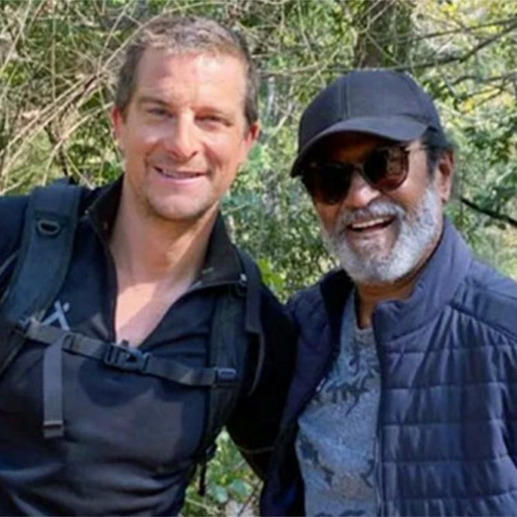Rajinikanth Tweets about Into The Wild with Bear Grylls; Calls it the most adventures experience of his life