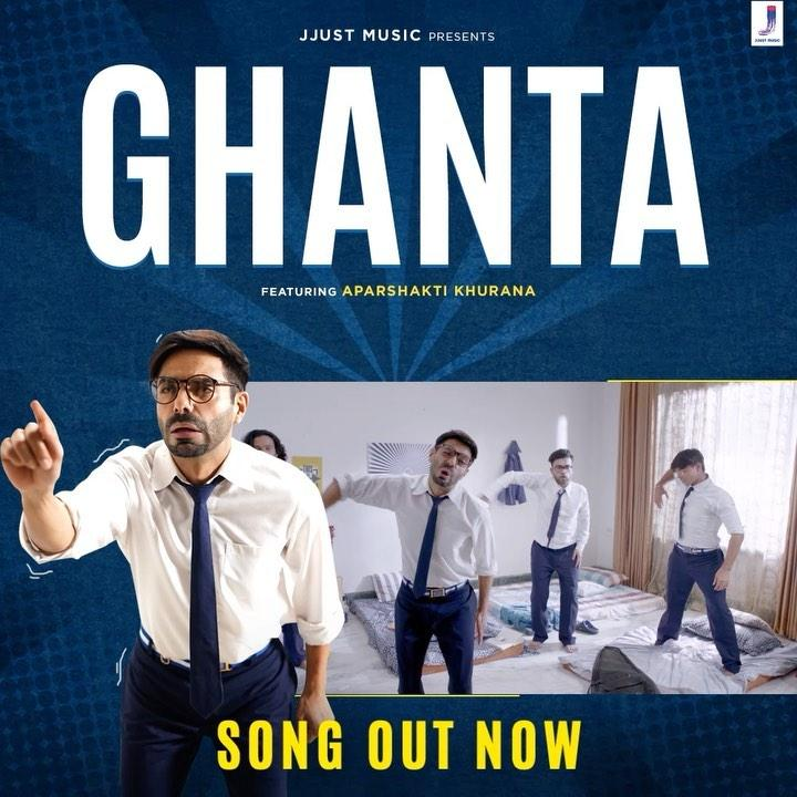 Aparshakti Khurana is overwhelmed to be a part of quirky song 'Ghanta'