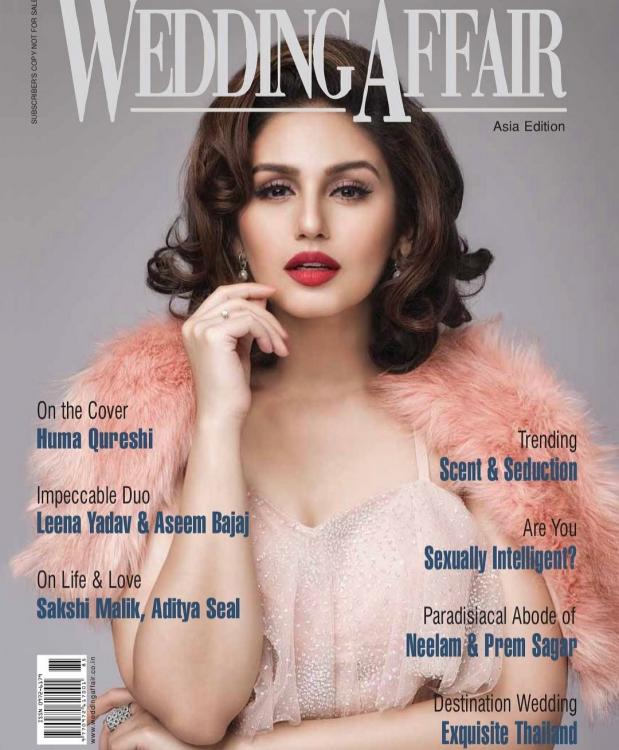 Huma Qureshi gives classic Hollywood vibes on The Wedding Affair cover