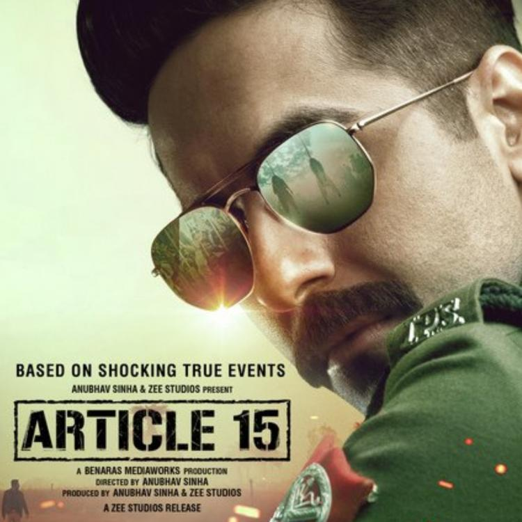 1 Year Of Article 15: Ayushmann Khurrana's cop act backed by Anubhav Sinha's direction makes the film relevant