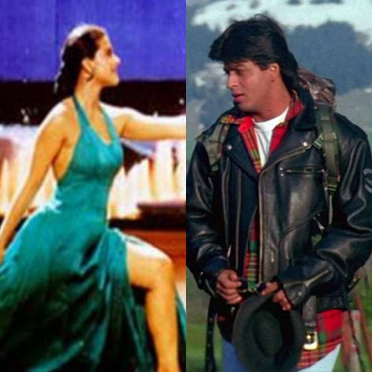 25 Years of DDLJ: Kajol's satin dress to SRK's leather jacket: ALL outfits from the film that trend even today
