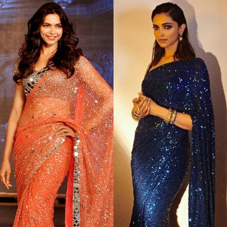 3 Times Deepika Padukone proved nobody looks as glamorous in a sequin saree as she does