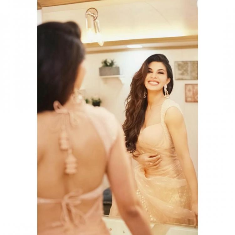 Jacqueline Fernandez in Anita Dongre for Salman Khan's Eid Party; Yay or Nay?