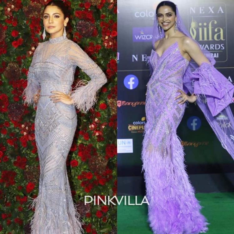 Fashion Faceoff: Deepika Padukone or Anushka Sharma: Who wore the shimmery feathered gown better?