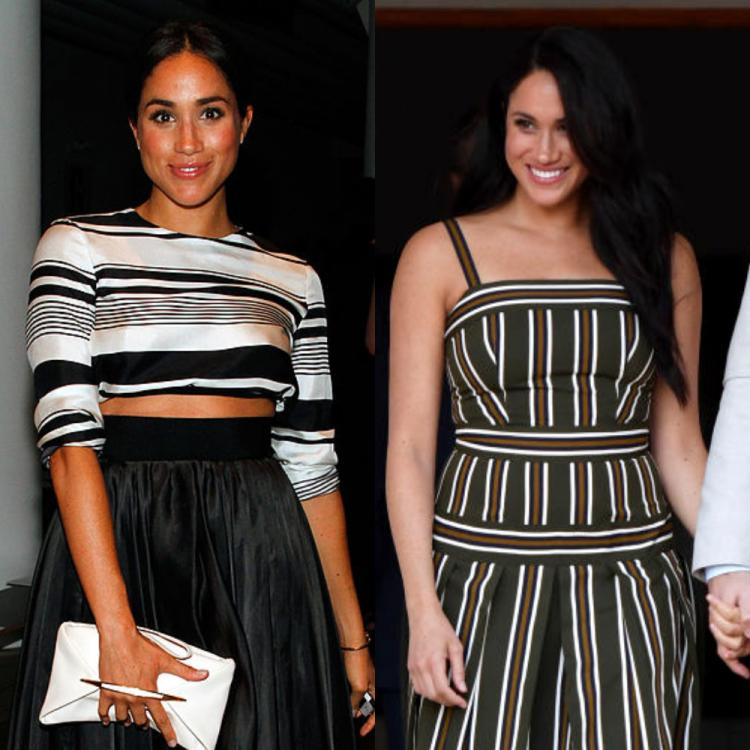 6 Times Meghan Markle gave lessons on how to wear stripes in style