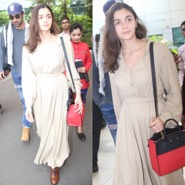 Alia Bhatt's airport look is all things chic and girly; Yay or Nay?