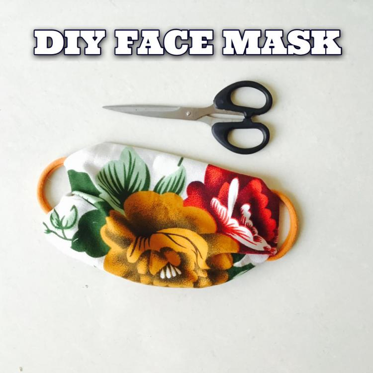 DIY Face Mask: How to make a non medical mask to protect against Coronavirus at home in under 5 minutes