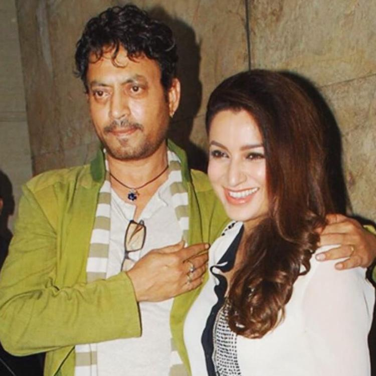 Tisca Chopra reveals that Irrfan Khan had stopped her from quitting acting
