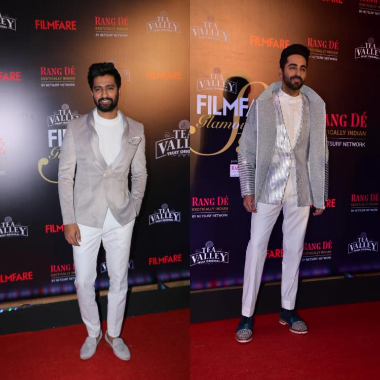 Filmfare Glamour and Style Awards: Ayushmann Khurrana, Vicky Kaushal and Kartik Aryan slay it to their best
