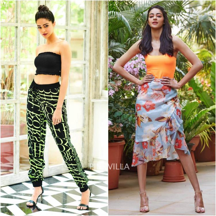 Ananya Pandey's SOTY 2 promotional looks are all kinds of summer style goals