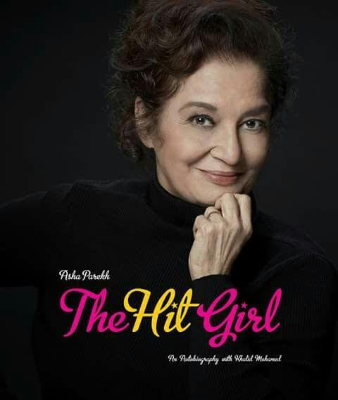 Asha Parekh's autobiography titled The Hit Girl's cover ...