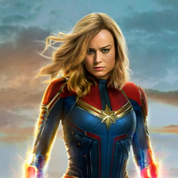 Avengers Endgame Star Brie Larson Reveals This Is How Captain Marvel Plans On Killing Thanos Pinkvilla Avengers:endgame captain marvel carol danvers cosplay costume halloween jumpsuit. avengers endgame star brie larson