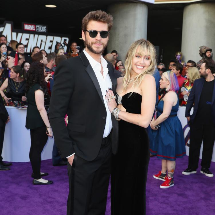 Avengers: Endgame LA Premiere: Miley Cyrus and hubby Liam Hemsworth amp up their fashion game; Check out pics