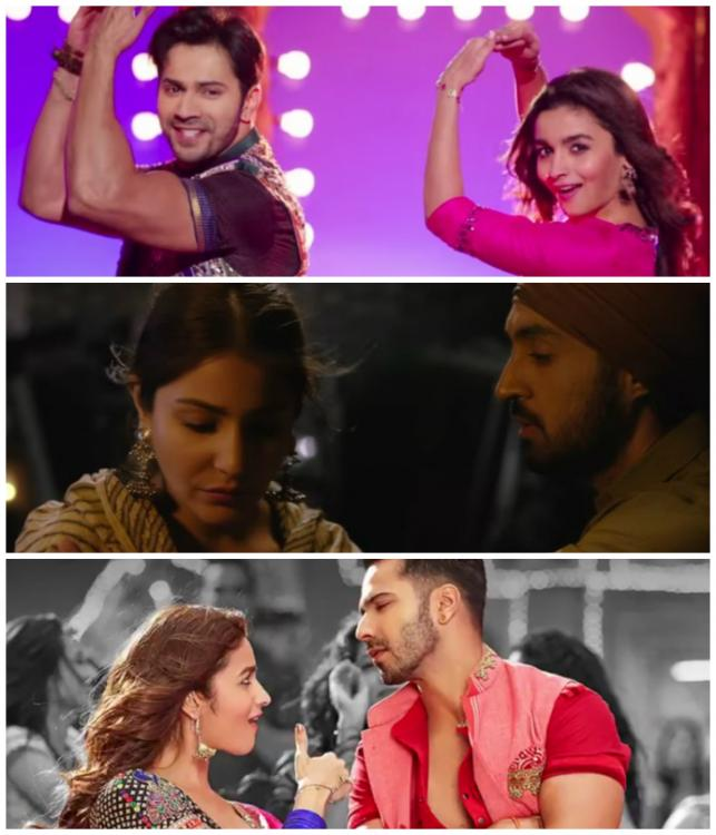 Music,Phillauri,Badrinath Ki Dulhania,Top Songs
