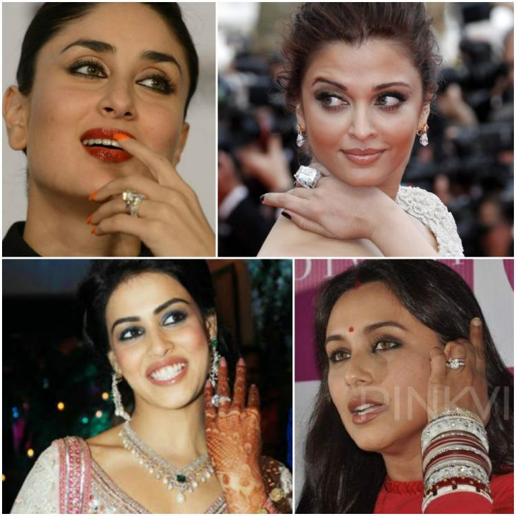 Bollywood Celebrity Engagement Rings That Can Be Spotted