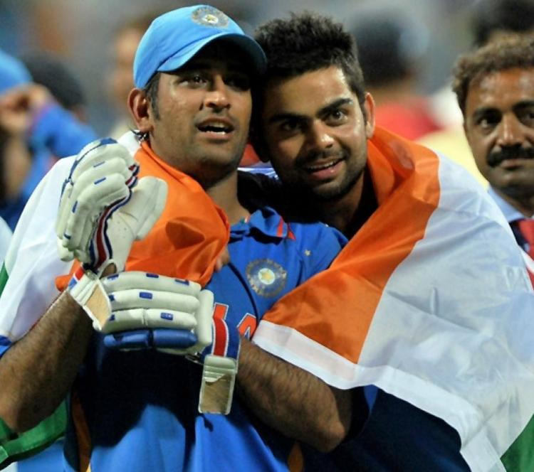 Mahendra Singh Dhoni steps down as India's limited overs cricket captain