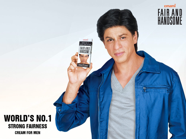 SRK in trouble for endorsing a fairness cream; 'Dark is Beautiful'