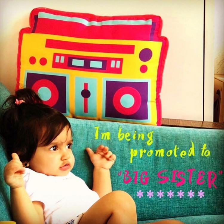 Esha Deol takes daughter Radhya's help to announce her second pregnancy in the most adorable way | PINKVILLA