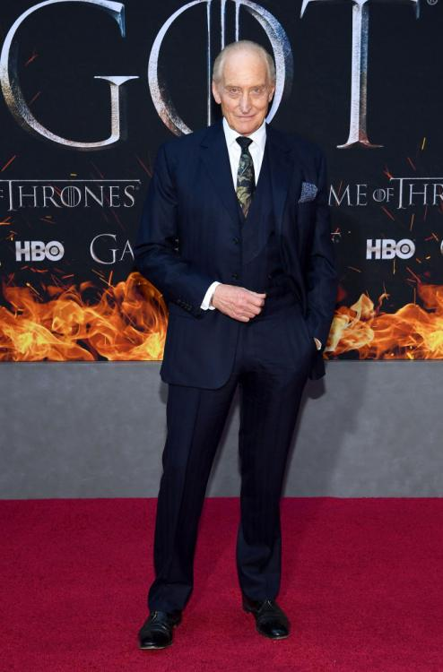 Game of Thrones actor Charles Dance aka Tywin Lannister was NOT impressed with the final episode