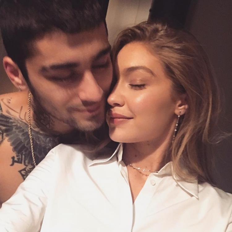 Gigi Hadid shares a selfie with Zayn Malik; calls him her happy place  | PINKVILLA