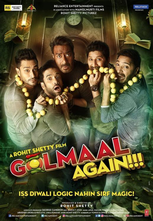 Golmaal Again quick movie review: Laugh with abandon in this Rohit Shetty film | PINKVILLA