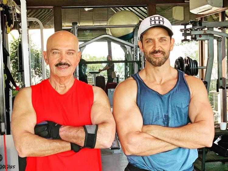 Hrithik Roshan posts a picture with daddy Rakesh Roshan on Instagram and pens a heartwarming message for his father as the latter gets diagnosed with early-stage cancer