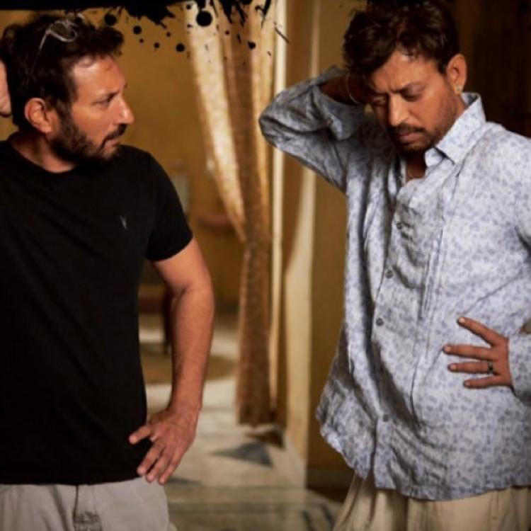 Irrfan and Homi Adajania are turning their Angrezi Medium on set shenanigans into hilarious memes; See Pic