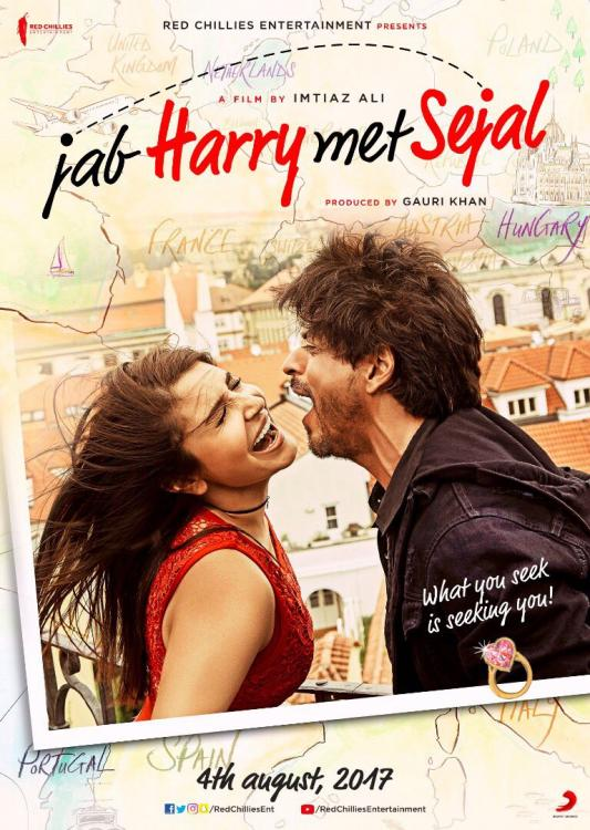 Jab Harry Met Sejal Movie Review: Shah Rukh Khan-Anushka Sharma's alluring chemistry will melt your hearts | PINKVILLA
