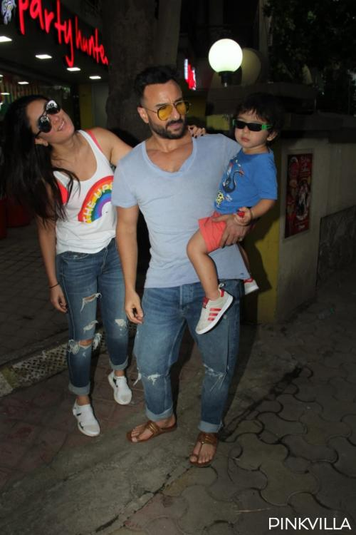 Taimur with mum Kareena Kapoor Khan and dad Saif Ali Khan raise the cool quotient in latest photos