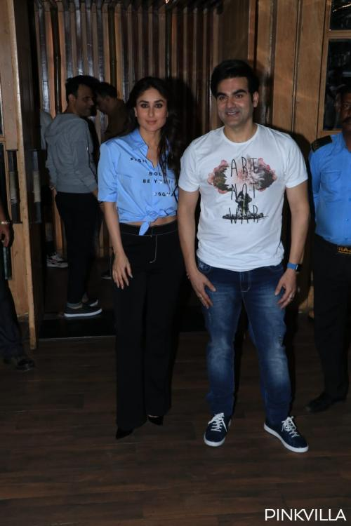 Photos: Kareena Kapoor Khan makes heads turn at an event hosted by Arbaaz Khan