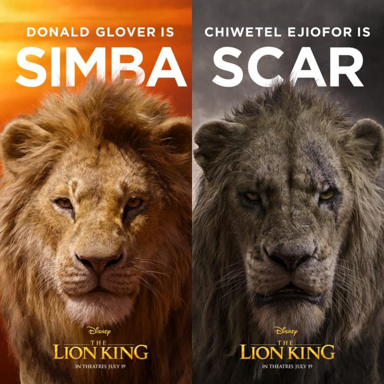 the lion king new posters  meet simba  nala  scar  mufasa