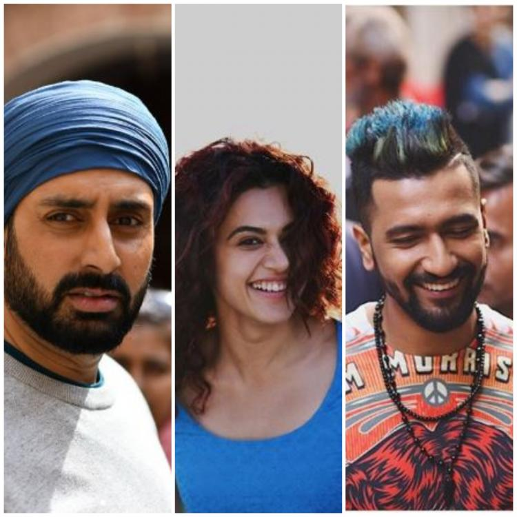 Manmarziyaan Movie Review: Taapsee Pannu & Vicky Kaushal electrify love, Abhishek Bachchan is like old wine | PINKVILLA