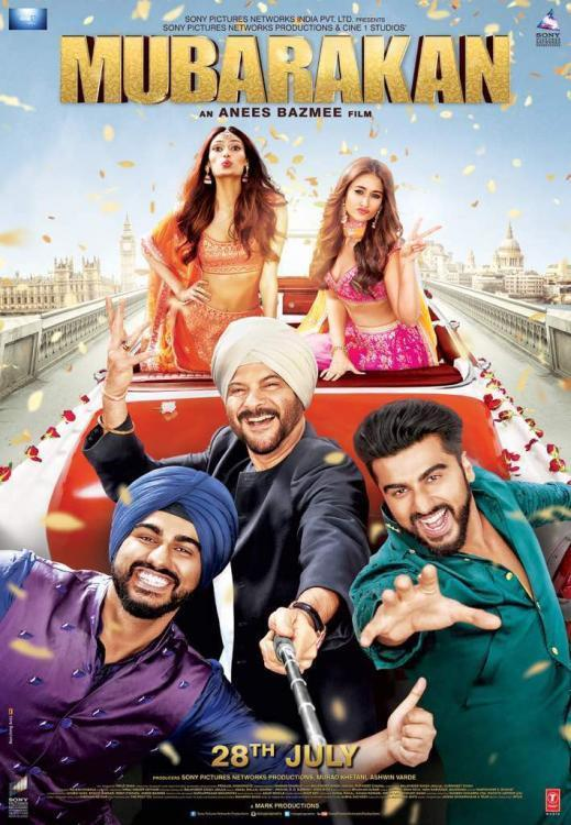 Mubarakan Movie Review: Fireball Anil Kapoor and sincere Arjun Kapoor are madcap in this LOL show | PINKVILLA