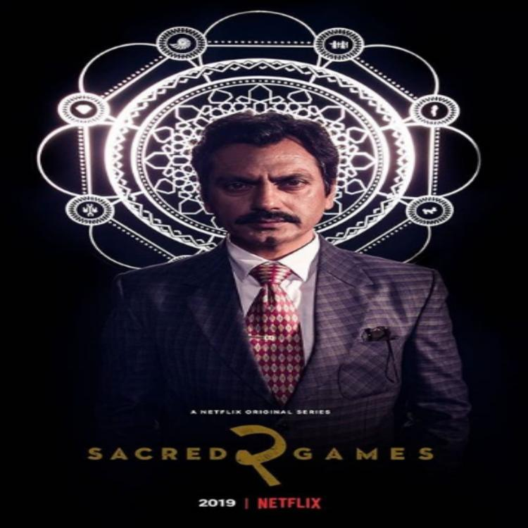 Sacred Games 2: Nawazuddin Siddiqui as Ganesh Gaitonde is at his intriguing best in this new poster