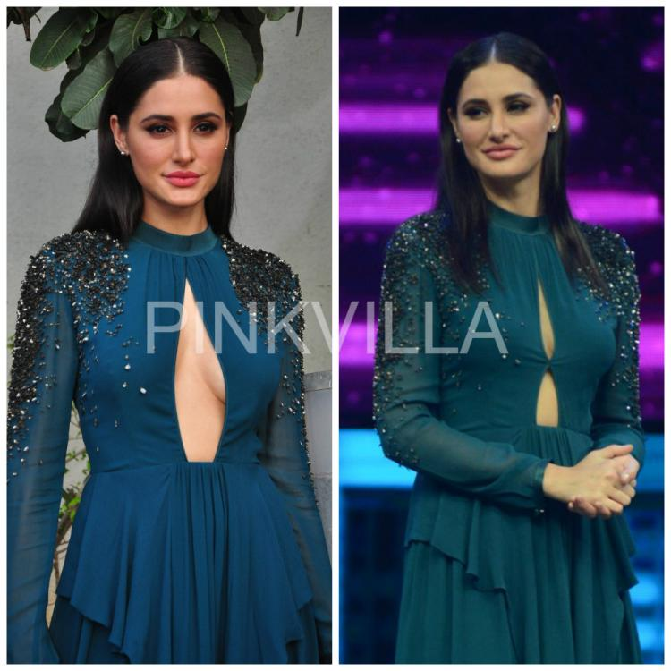 Nargis Fakhri asked to cover-up her revealing dress at reality TV show