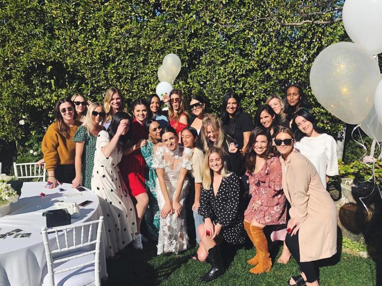 PHOTOS: Selena Gomez is the epitome of gorgeousness at her best friend's bridal shower | PINKVILLA